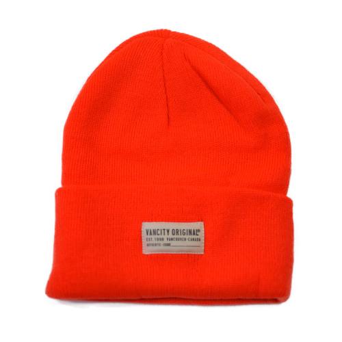 Authentic Issue Beanie - Highlighter Orange