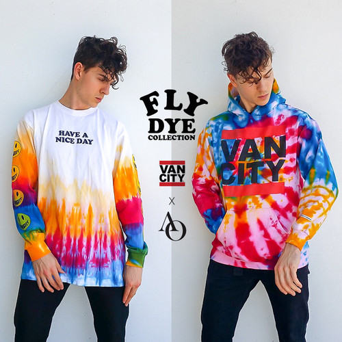 THE FLY DYE COLLECTION BY DESIGNER AUSTIN OTTONE
