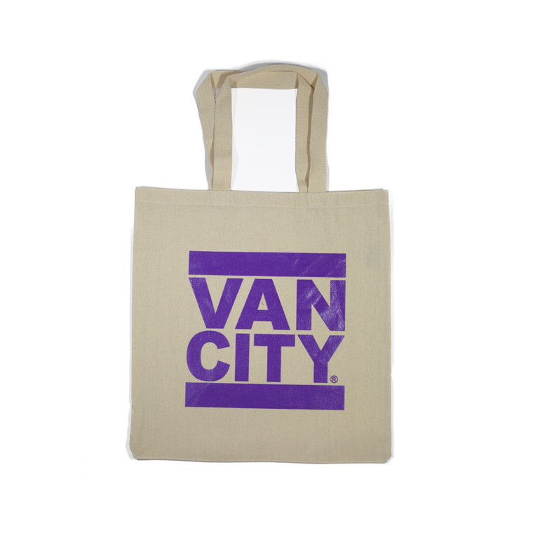 Classic UnDMC Tote Bag - Natural Purple