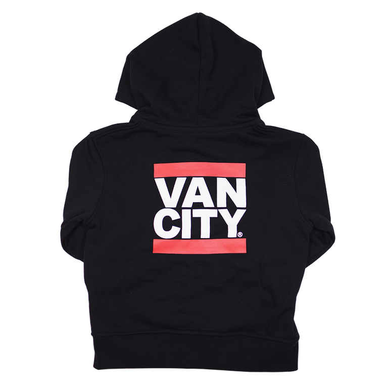 Vancity® Baby Zip Up Hoodie - Black