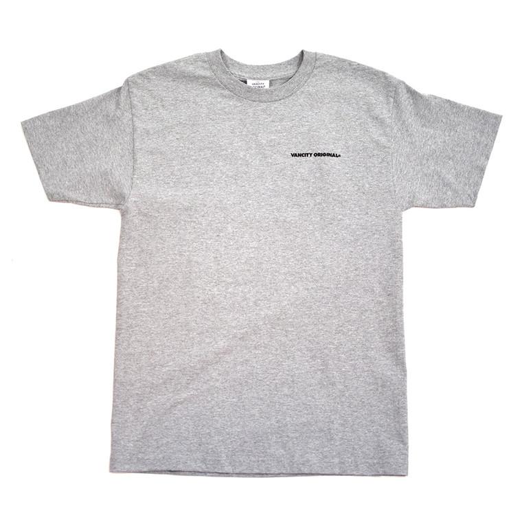 UnDMC Back Logo Tee - Athletic Grey