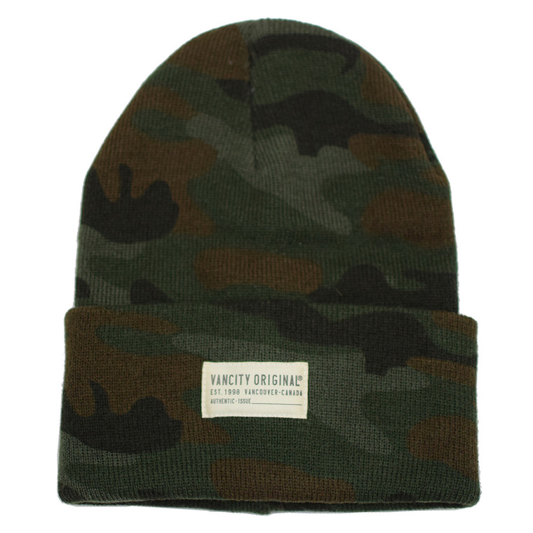 Authentic Issue Beanie - Camo