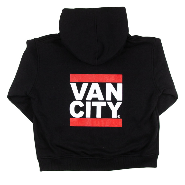 VO Infant Zip Up Hoodie - Black/Red