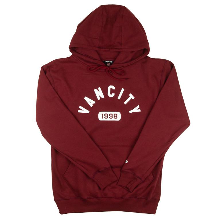 Vancity Athletic Hoodie - Maroon