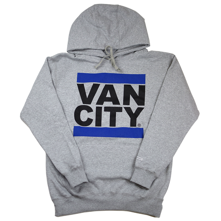 Black & Blue UnDMC Hoodie - Heather Grey