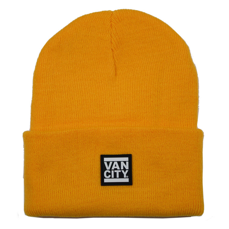 UnDMC Rubber Patch Beanie - Yellow
