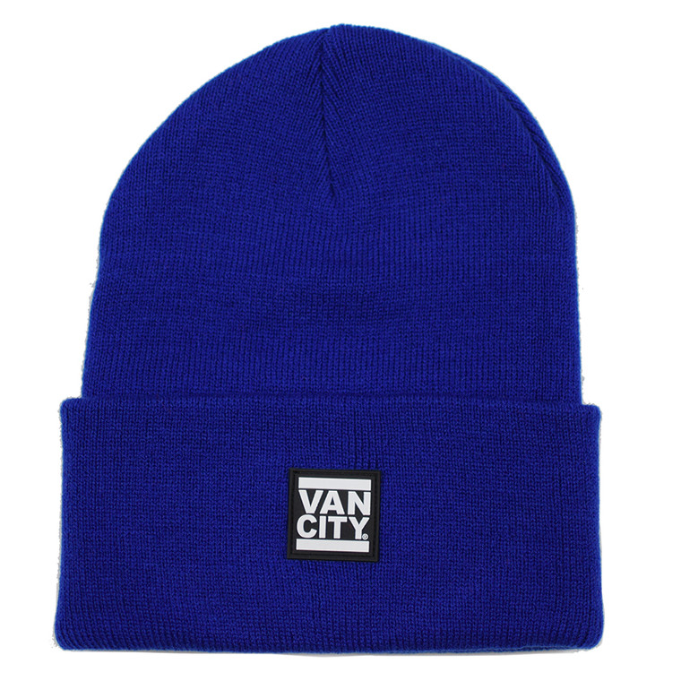 UnDMC Rubber Patch Beanie - Royal Blue