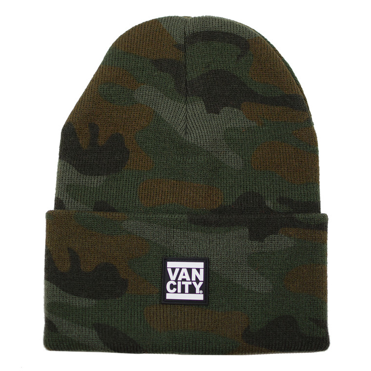 UnDMC Rubber Patch Beanie - Camo