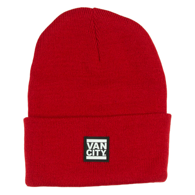 UnDMC Rubber Patch Beanie - Red