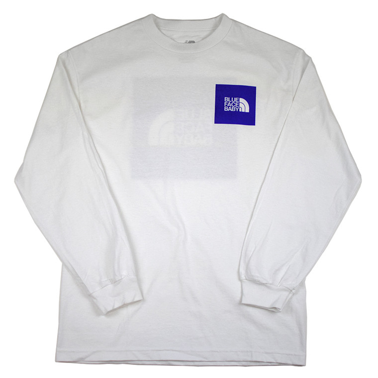 Blueface Baby Long Sleeve Tee - White