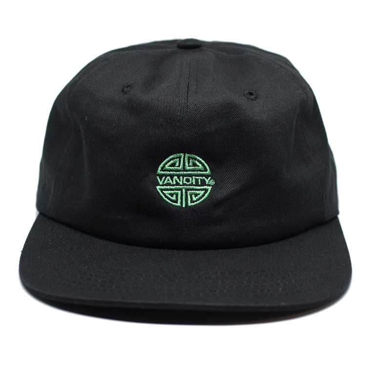 Crazy Rich 6 Panel Cap - Black