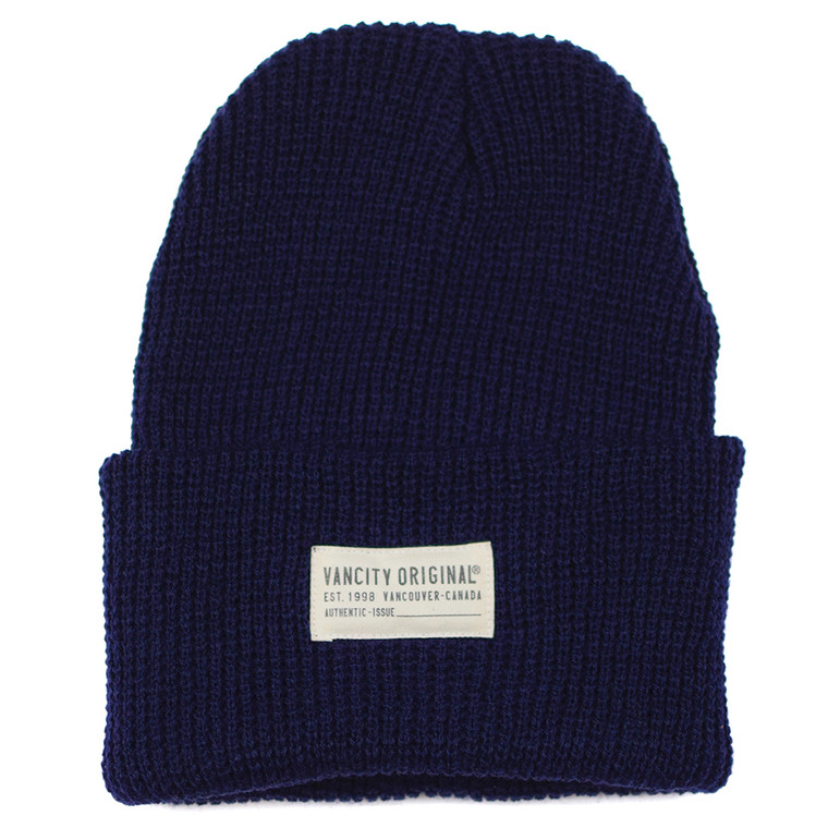 Watch Cap Beanie - Navy