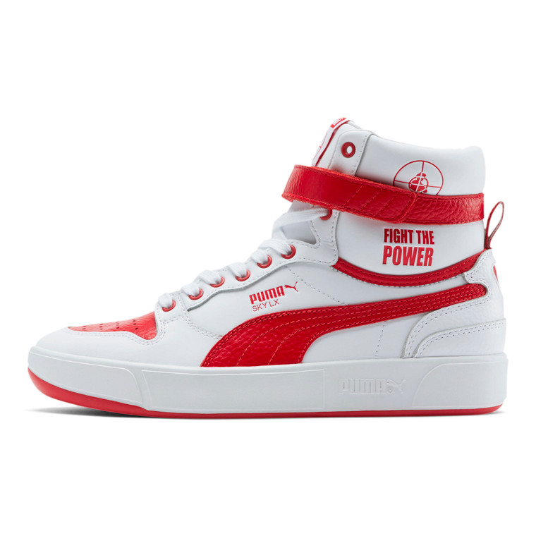 Puma x Public Enemy Sky LX - White/Red