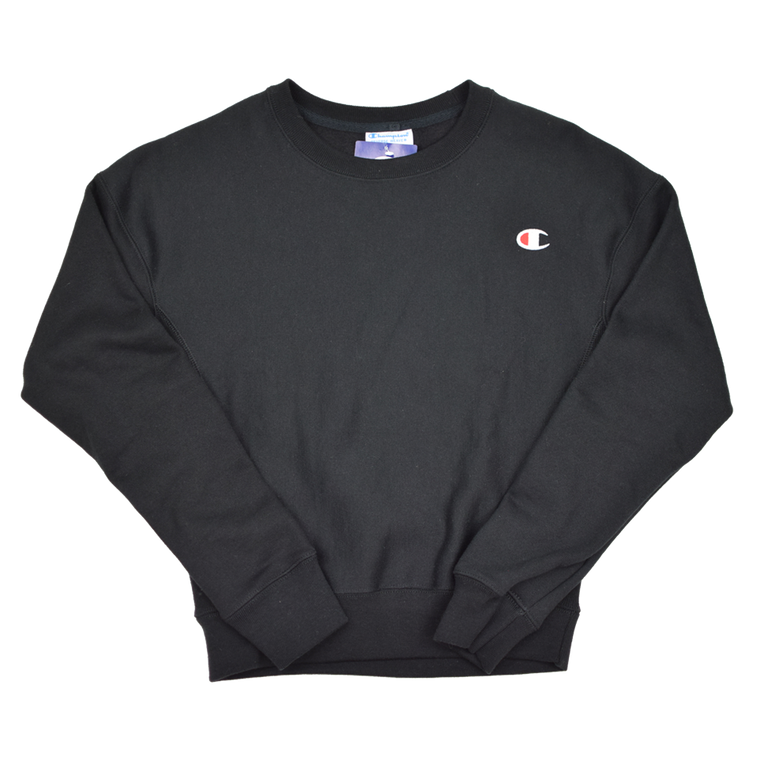 Champion RW Women's Crew Crew Sweatshirt - Black