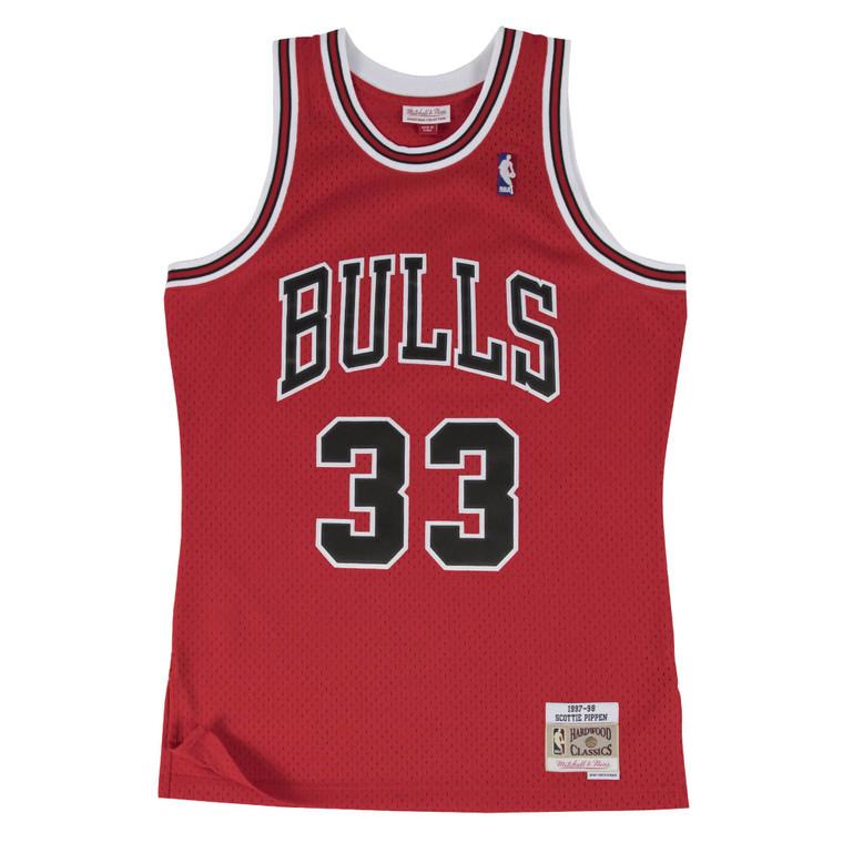 Mitchell & Ness Bulls 1997/98 Scottie Pippen Swingman Jersey - Red