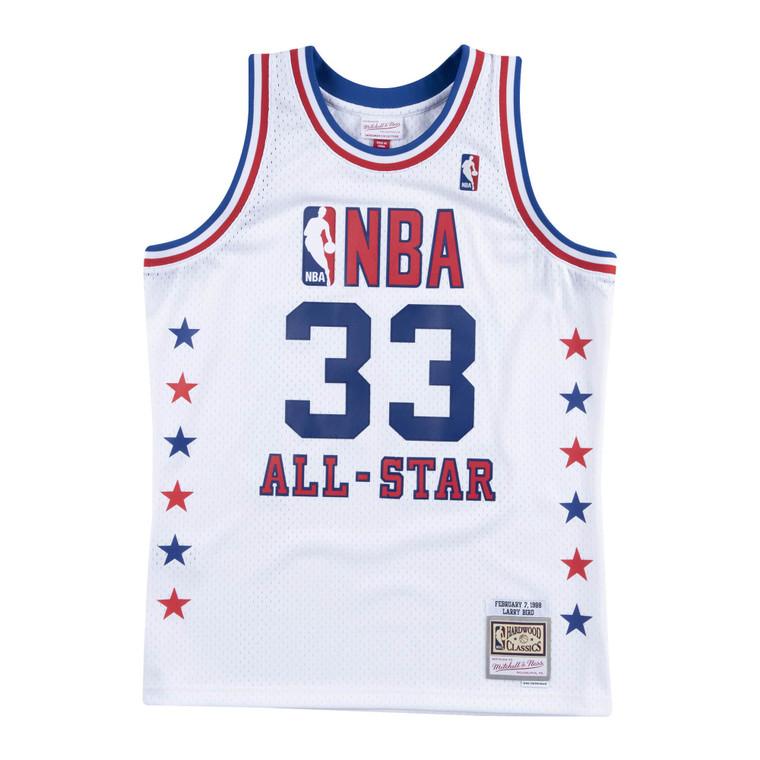 NBA Allstar East 1988 Larry Bird Swingman throwback jersey