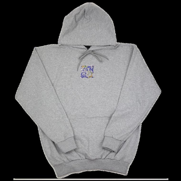 Vancity Original Wavy World Hoodie - Athletic Grey