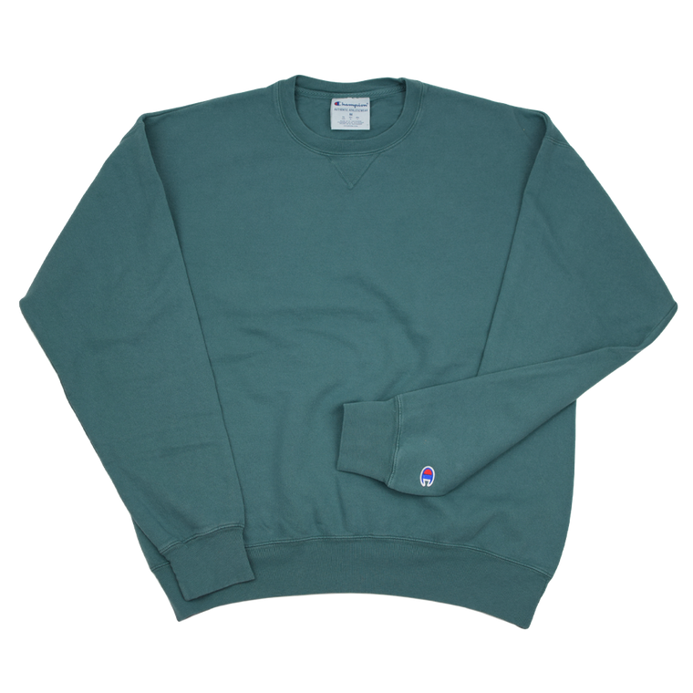 Champion GARMENT DYED Crew Sweatshirt - Cactus
