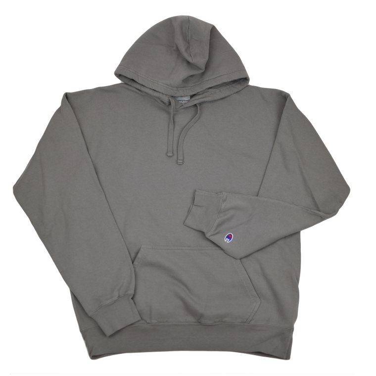 Champion Garment Dyed Hoodie - Concrete