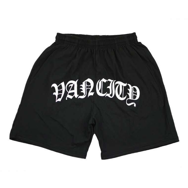 Old English Shorts - Black