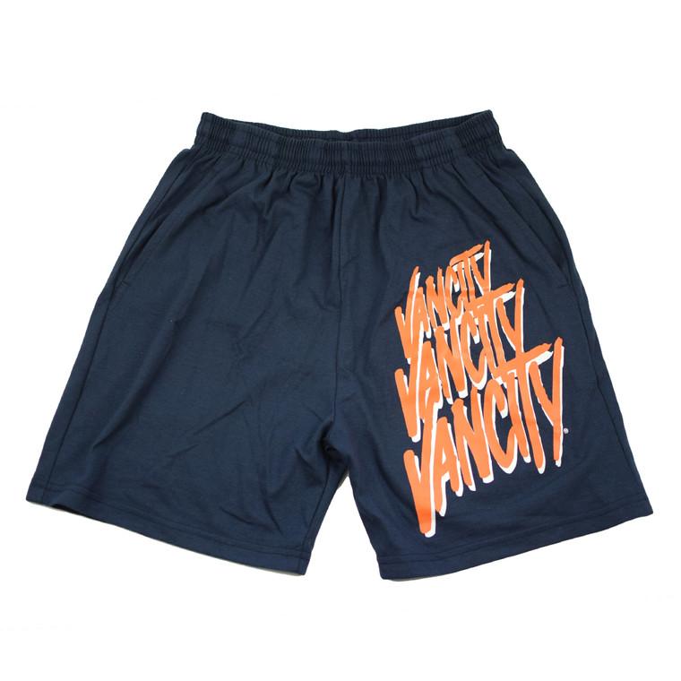 Stacked Shorts - Navy