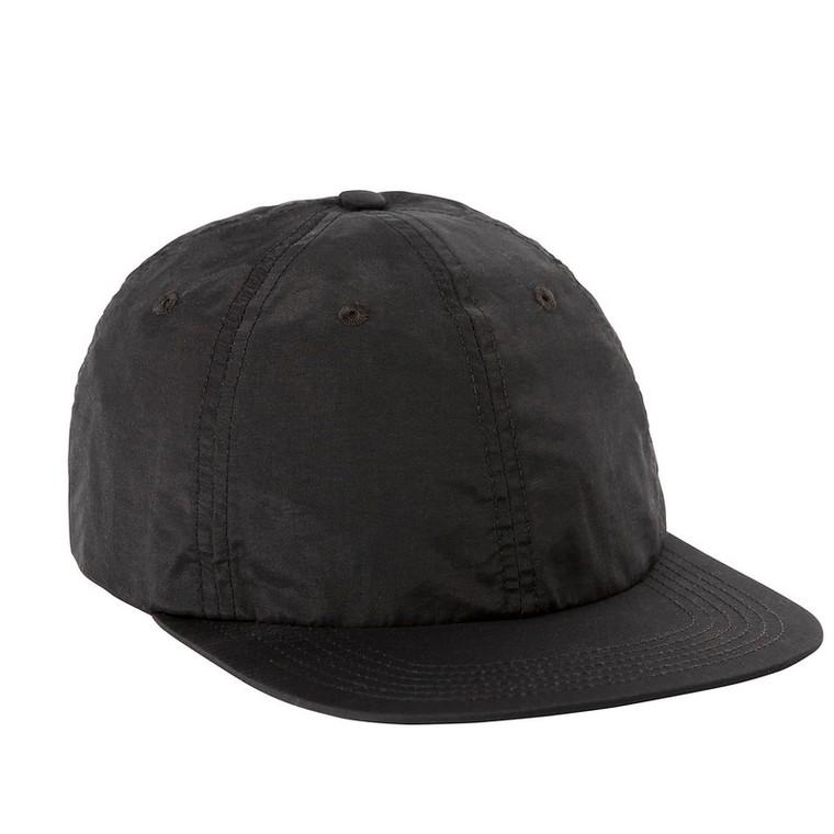TOPO NYLON BALL CAP - Black