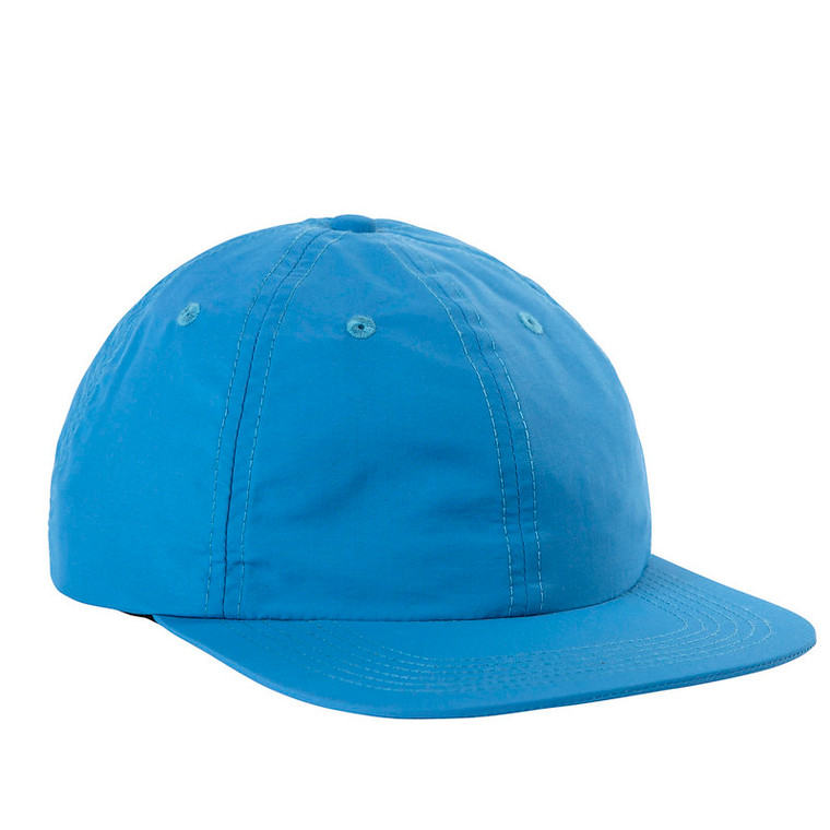 TOPO NYLON BALL CAP - Blue