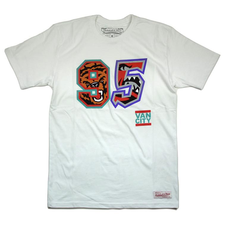 VO X M&N NBA BORN IN 95 TEE - WHITE