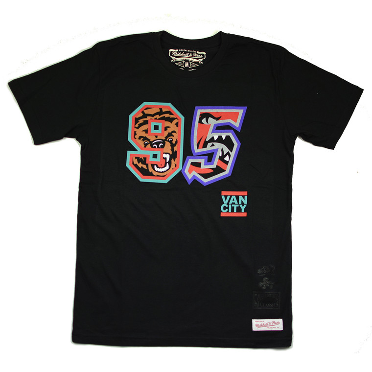 VO X M&N NBA  BORN IN 95 TEE - BLACK