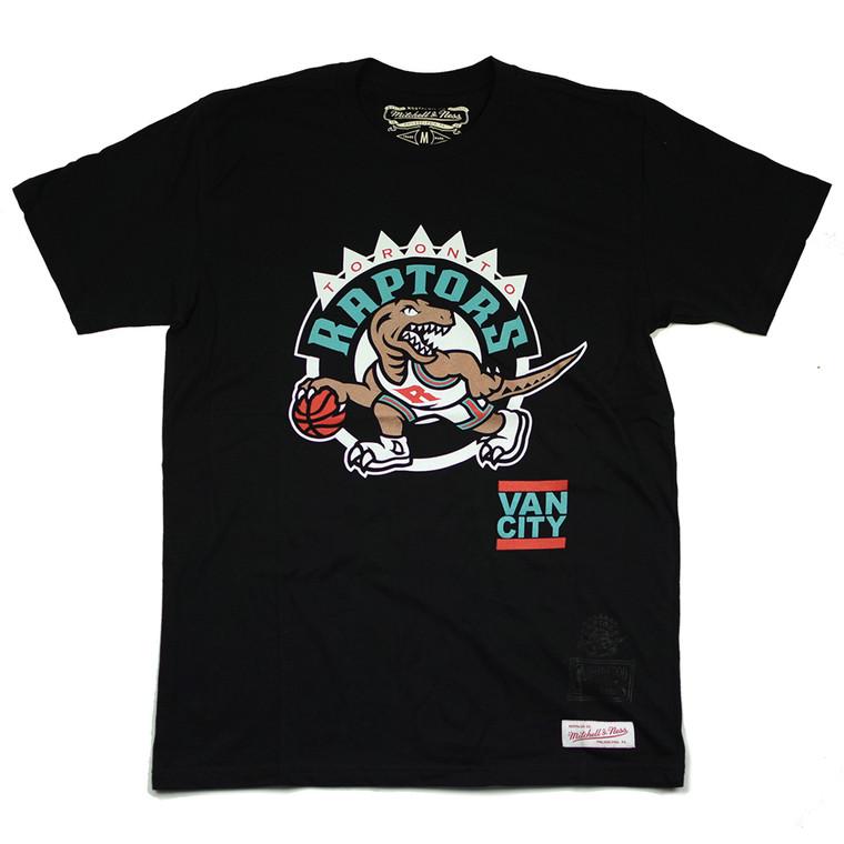 VO X M&N NBA TORONTO RAPTORS'95 FLIP TEE - BLACK