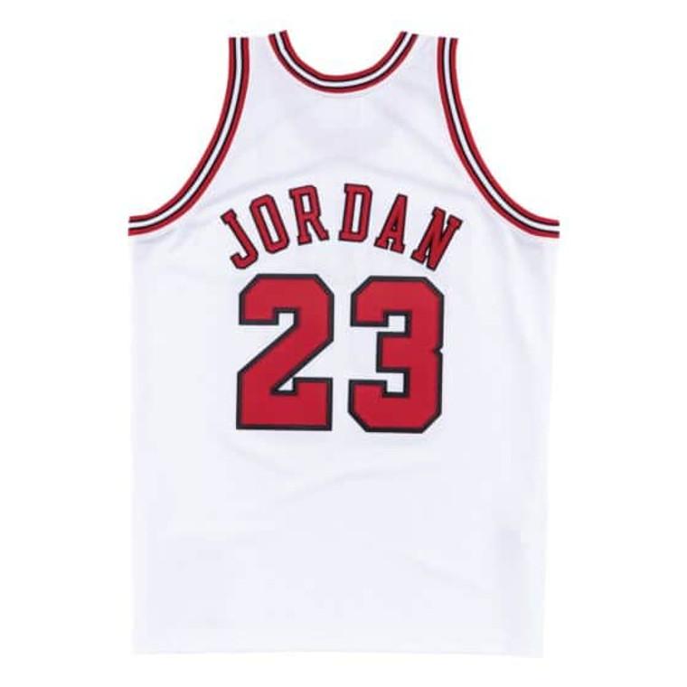 AUTHENTIC JORDAN BULLS JERSEY 97/98 - WHITE