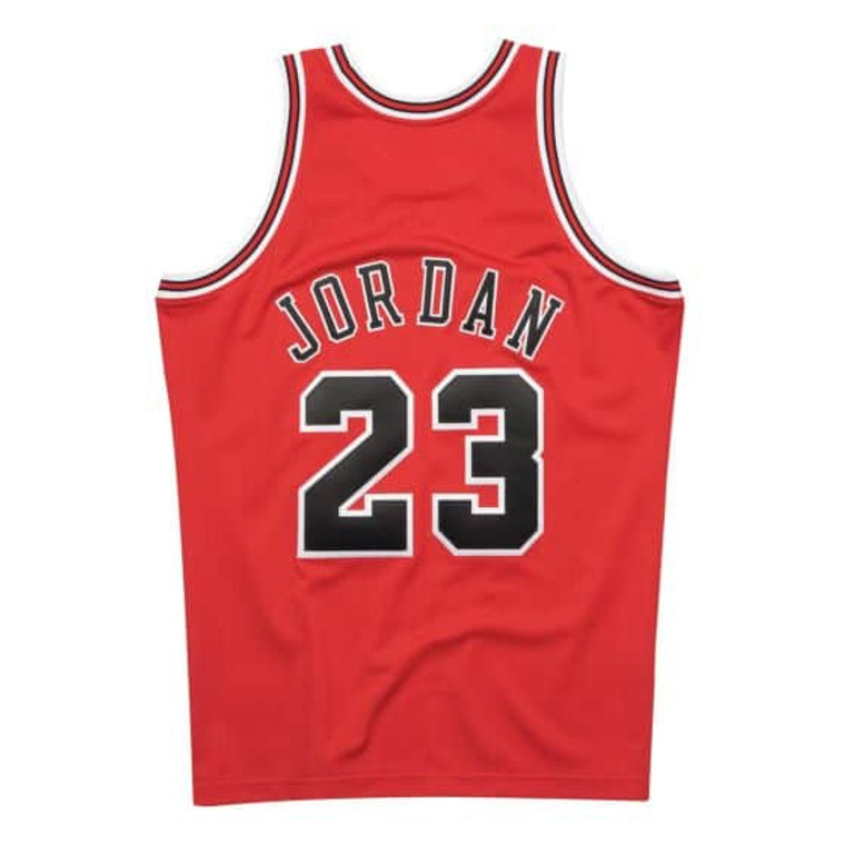 AUTHENTIC JORDAN BULLS JERSEY 97/98 - RED