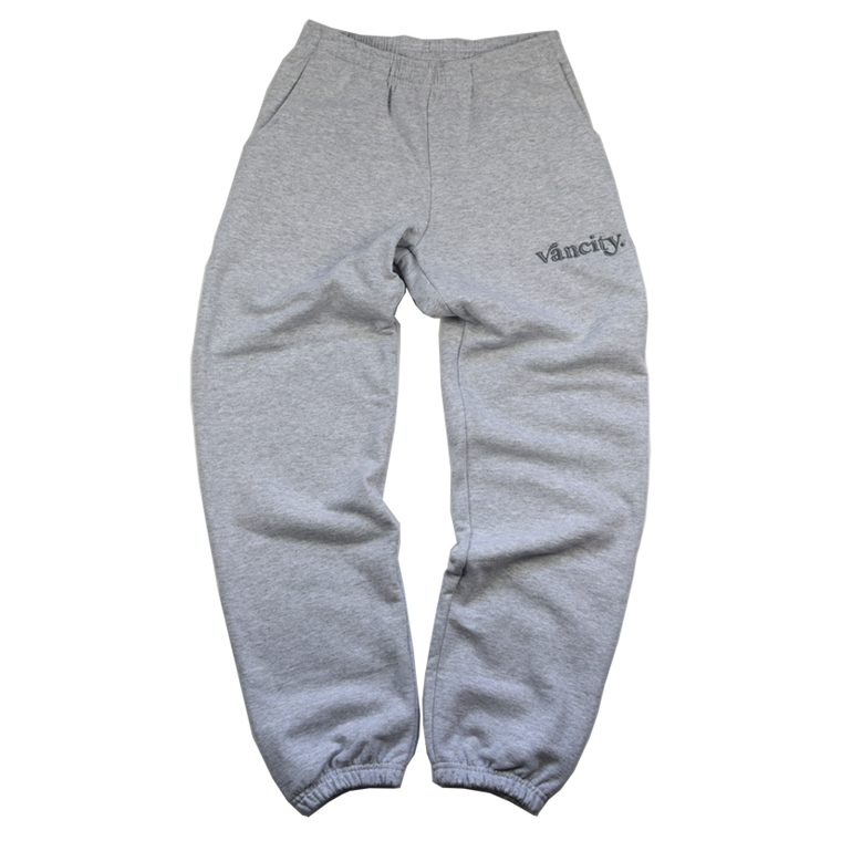 Vancity Original Dot Premium Sweatpant - Grey/Grey