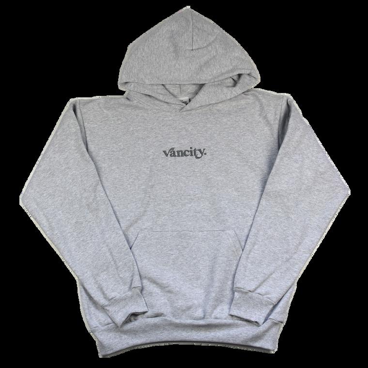 Vancity Original Dot Premium Hoodie - Grey/Grey