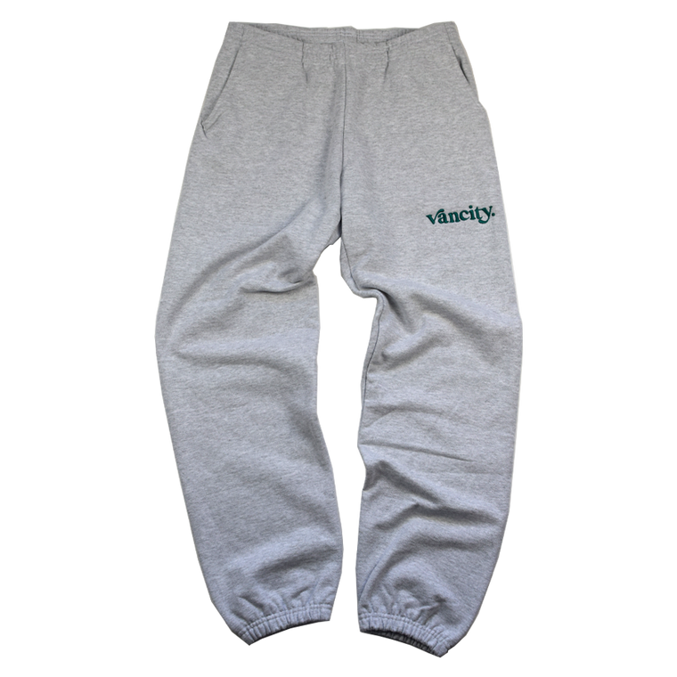 Vancity Original Dot Premium Sweatpant - Grey/Green