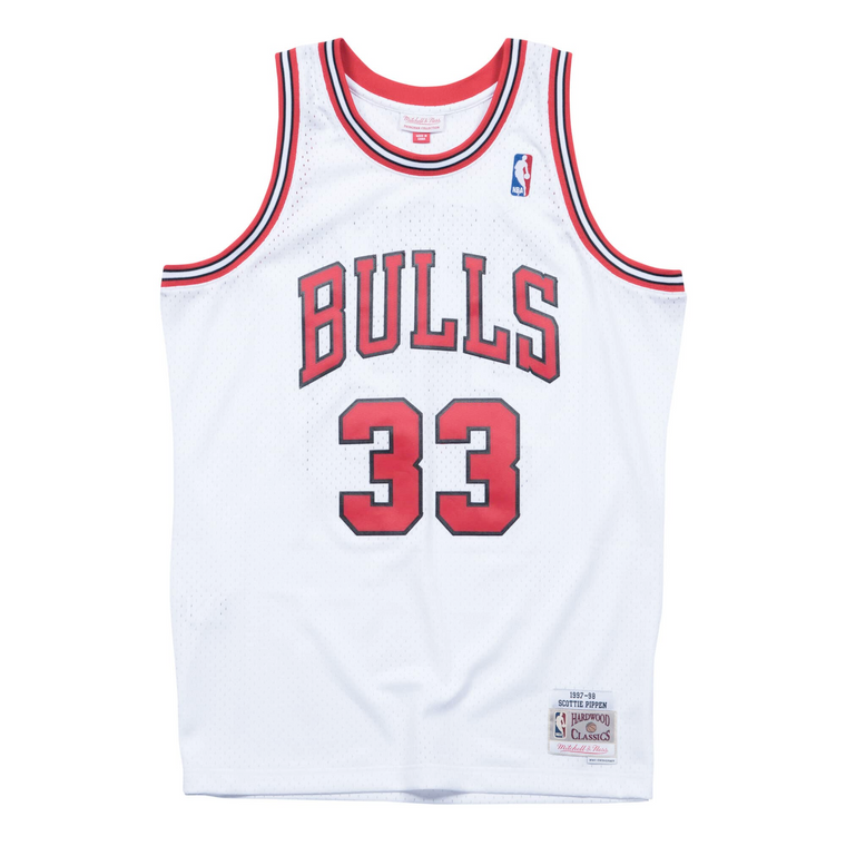 Bulls 1997/98 Scottie Pippen Swingman Jersey - White