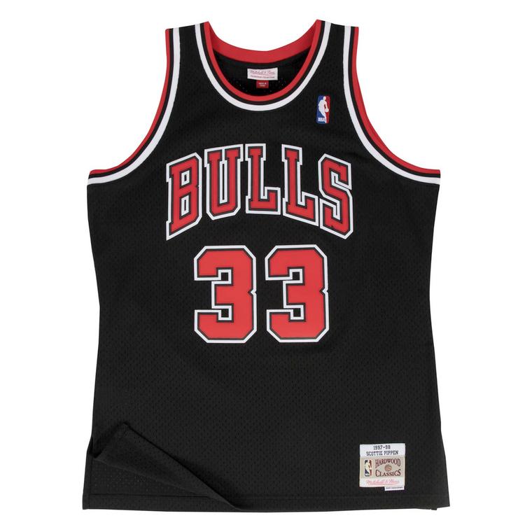 Bulls 1997/98 Scottie Pippen Swingman Jersey - Black
