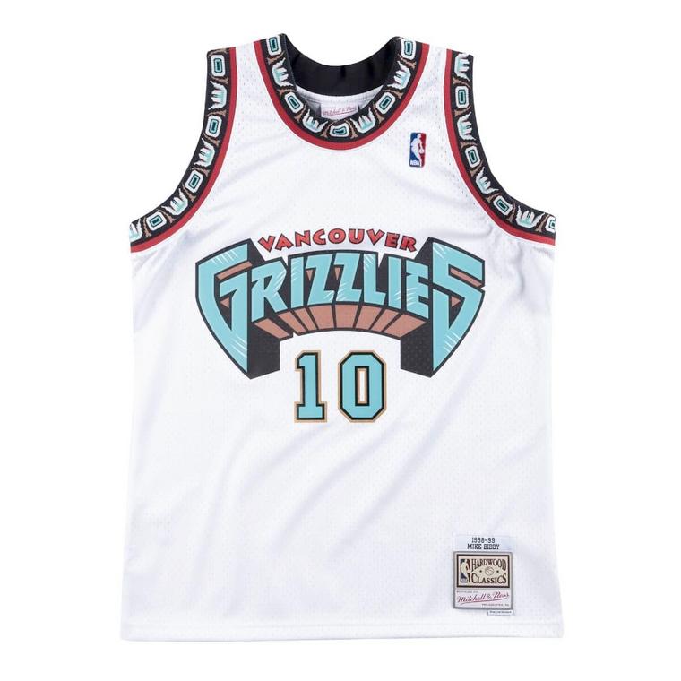 Grizzlies 1998/99 Mike Bibby Swingman Jersey - White