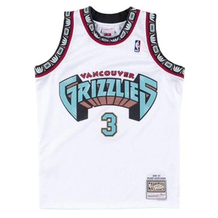 Mitchell & Ness Grizzlies 1998/99 Abdur-Rahim Swingman Jersey - White