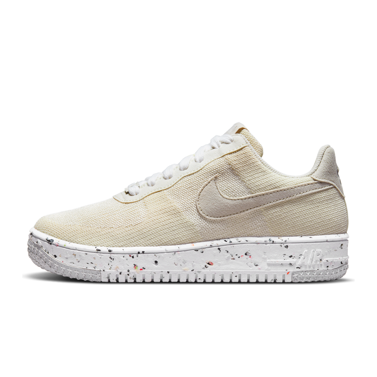 """WOMENS NIKE AIR FORCE 1 CRATER FLYKNIT """"SAIL"""""""