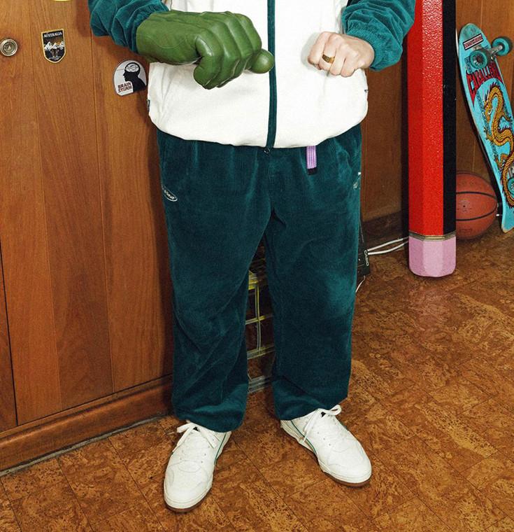 PUMA X BUTTER GOODS TRACK PANTS - JADE