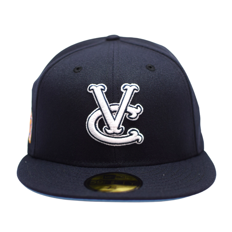 Worlds Champs Post Season New Era Fitted Cap - Navy