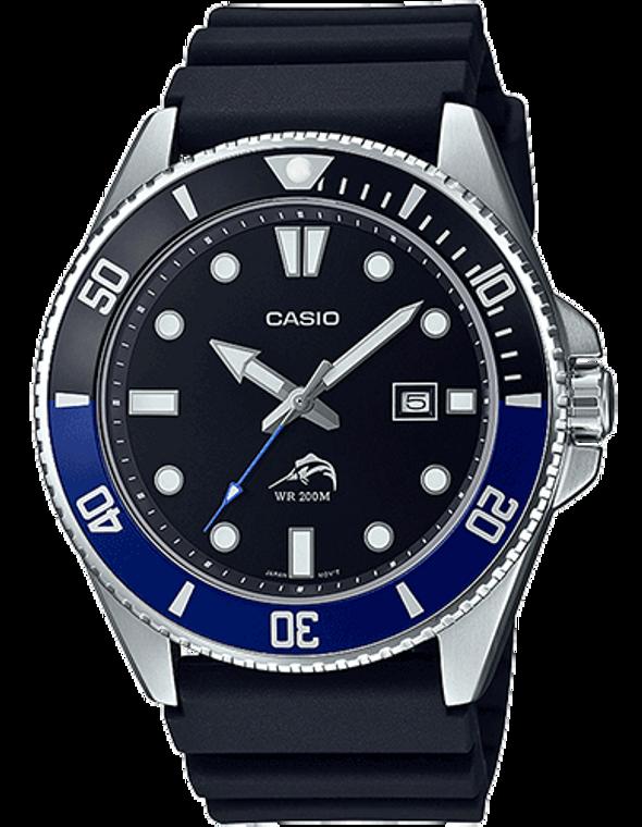 Casio Diver Inspired Watch - Black/Blue