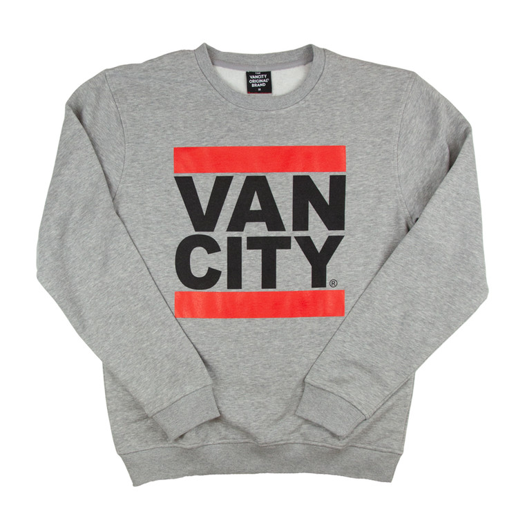 ew Classic Fit UnDMC Crew Sweatshirt - Heather Grey
