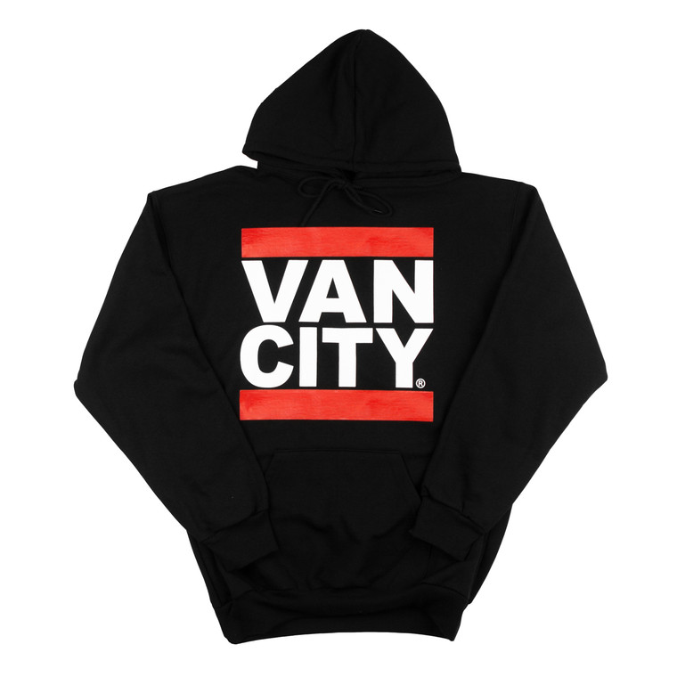 Vancity Original® New Classic Fit UnDMC Hoodie in Black - Front