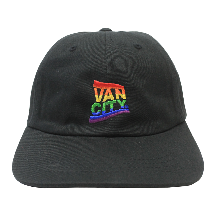 Vancity Pride Dad Hat - Black