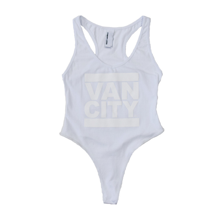 Monochrome Bodysuit - White