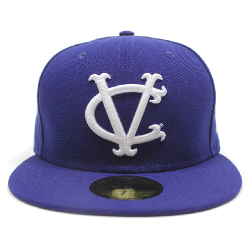New Era Blue Vintage VC 5950 Fitted Hat  f398cf99d79