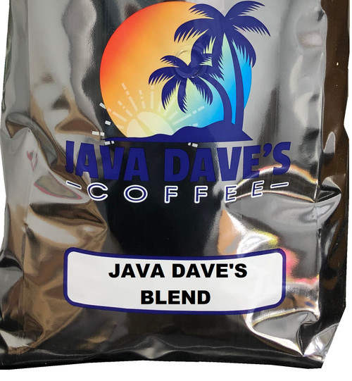 JAVA DAVE'S BLEND COFFEE - 5 LB. BAG