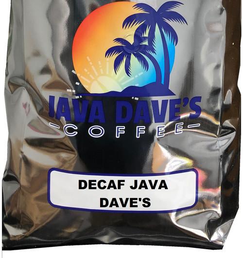 DECAF Java Dave's Blend 5 lb. Bag -